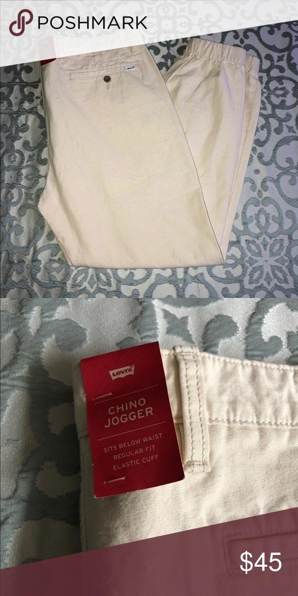 2510359fced Levi's Joggers 38 x 32 Men's Levi's chino jogger light khaki color Levi's  Pants Chinos &