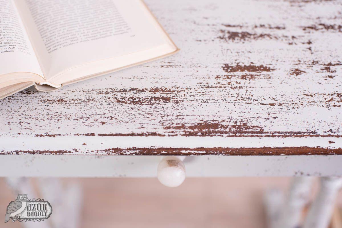 Old Fashioned Milk Paint in Oyster White - bútorfestés - antikolás - tejfesték - Azúr Bagoly