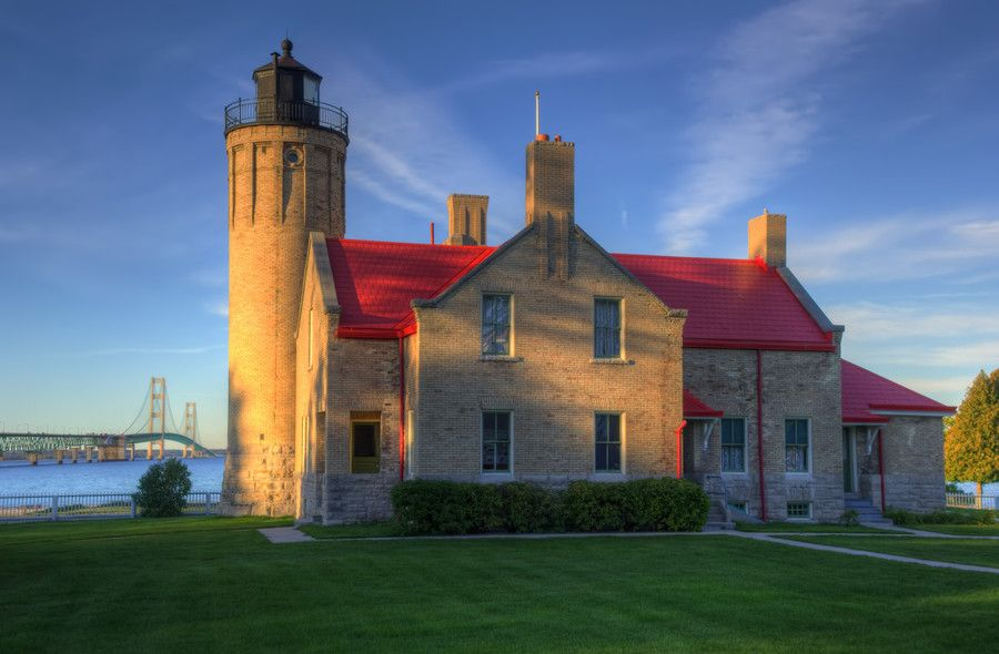 Old Mackinac Point Lighthouse by Megan Noble on 500px