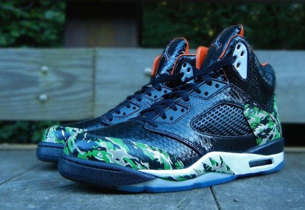 "Mache x JBF Customs x Air Jordan 5 ""Best of Both Worlds"" Custom ... 6ae823965"