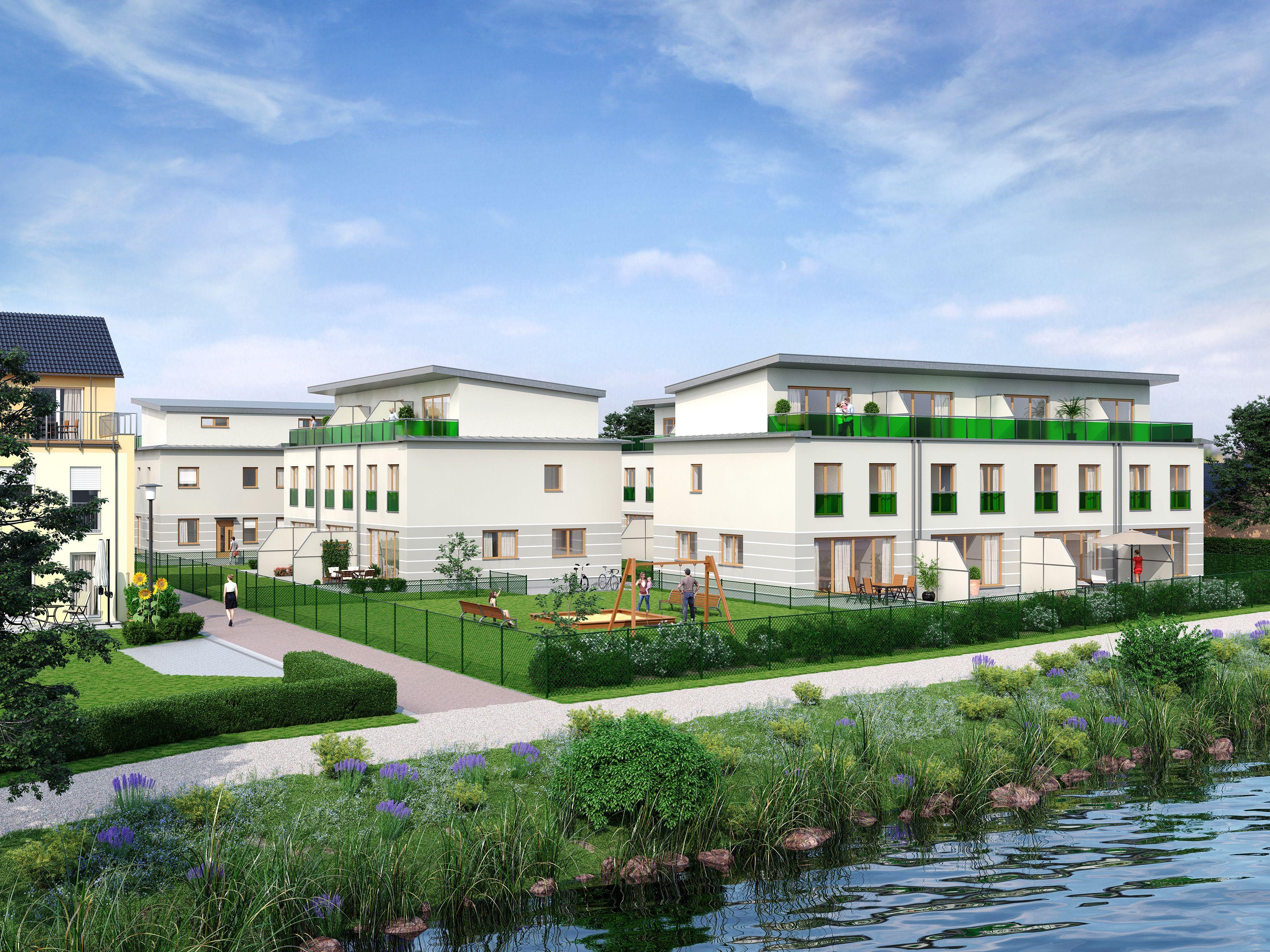 14 Reihenhauser In Berlin Spandau Alte Havel Spandau Fertigstellung 2019 Ein Projekt Der First Home Wohnbau Gmbh Architektur Immobilien Neubau