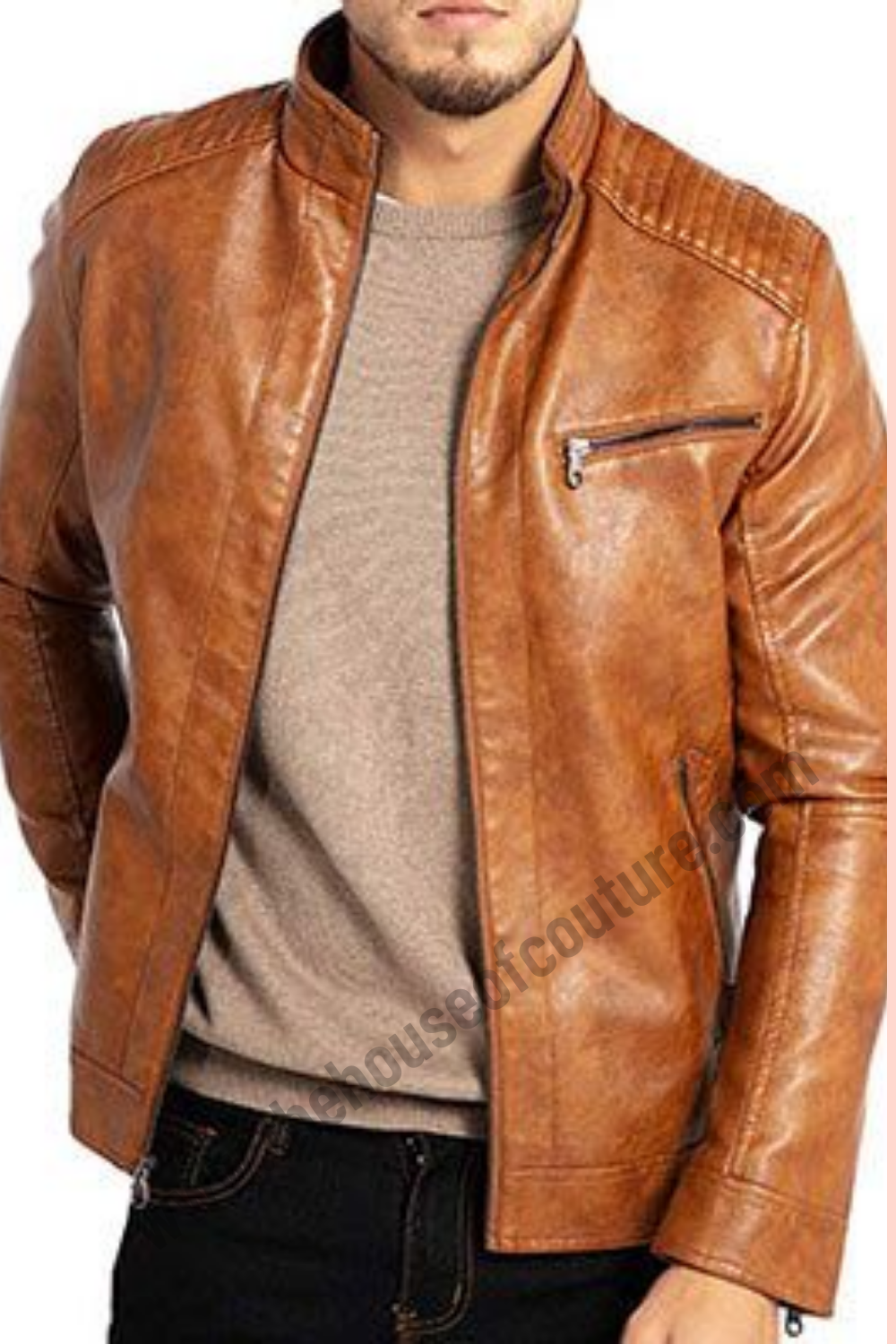 Get Custom Made Men Leather Jacket in Walnut Creek in 2020