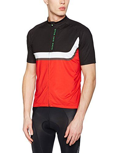 Gore Bike Wear Mens Short Sleeve Mountain Bike Jersey Lightweight