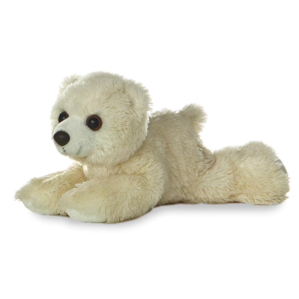 Aurora Mini Flopsie 8 Teddy bear stuffed animal, Bear