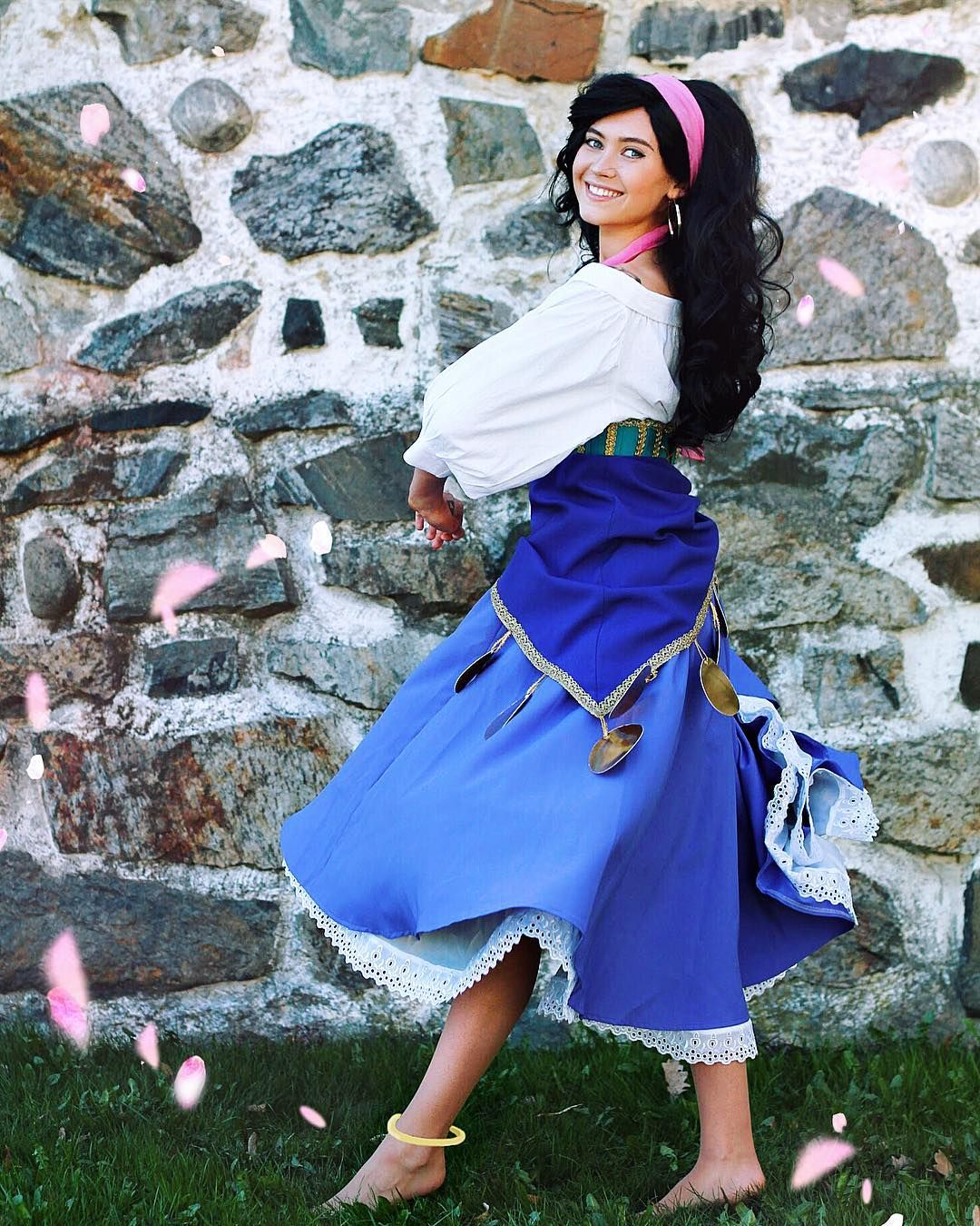 The Hunchback of Notre-Dame Esmeralda Cosplay Dress