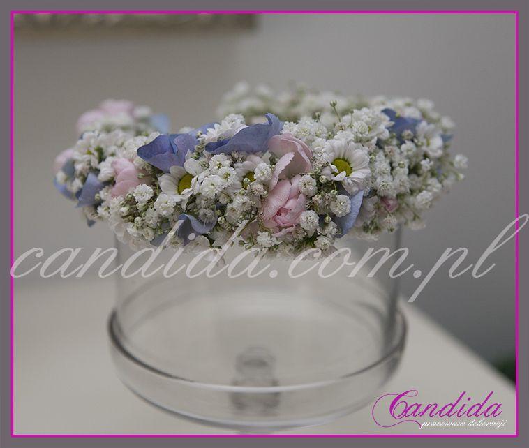 Wianki Komunijne Z Zywych Kwiatow Flower Crown Crown Jewelry Flowers