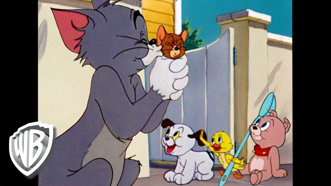 Tom Jerry Family Love Classic Cartoon Compilation Wb Kids Youtube Classic Cartoons Favorite Cartoon Character Cartoon