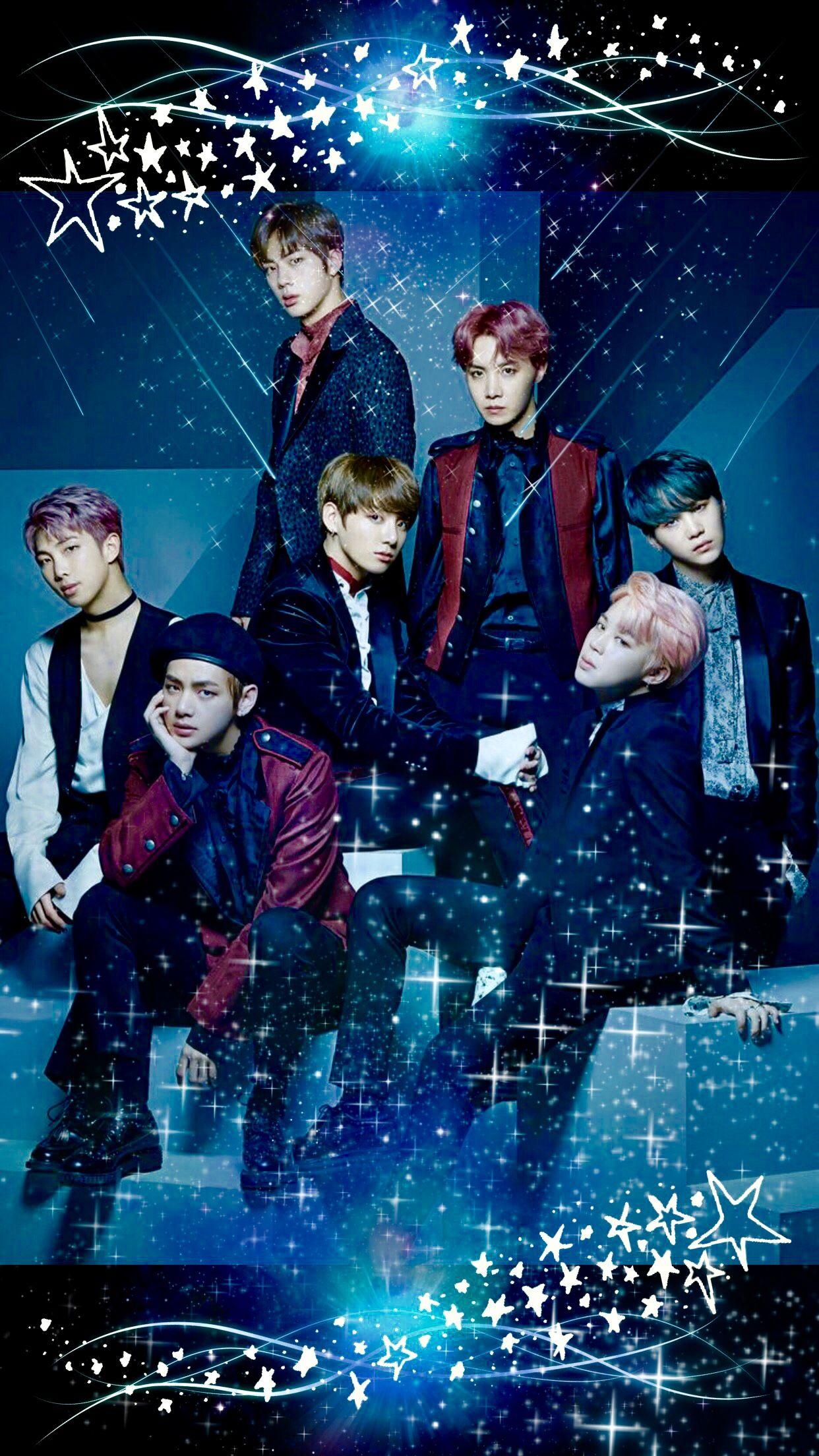BTS Space wallpaper ❤️❤️ #btswallpaper