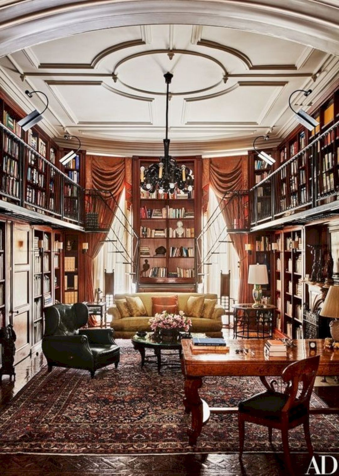 Traditional Home Library Design Ideas: 16 Traditional Room Decoration Ideas
