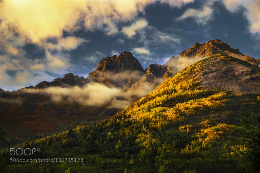 Fall in the Chugach by akcharly
