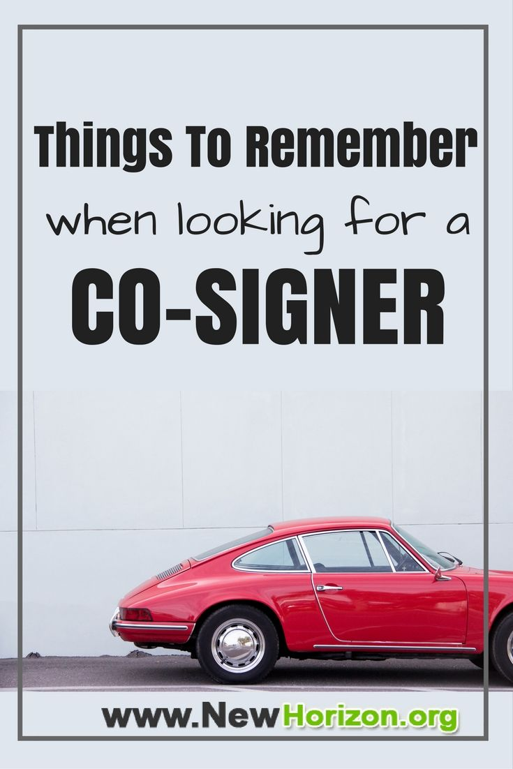 Things To Remember When Looking For A Co Signer Home Improvement