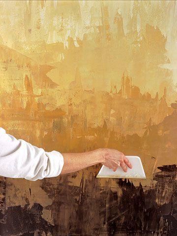 Paint a Faux Venetian Plaster Finish