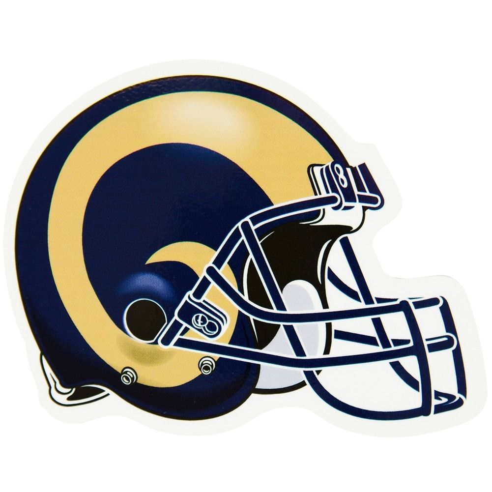 St Louis Rams Helmet Indoor Outdoor Magnet Nfl Logo La Rams