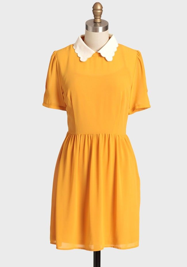 Simple Gifts Collared Dress Modern Vintage Dresses