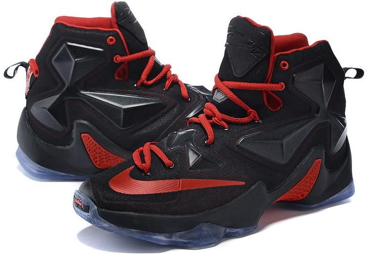 finest selection 207ba 81f2e Lebron 13 XIII Fire Red Black Grey1 | nike lebron 13 for ...