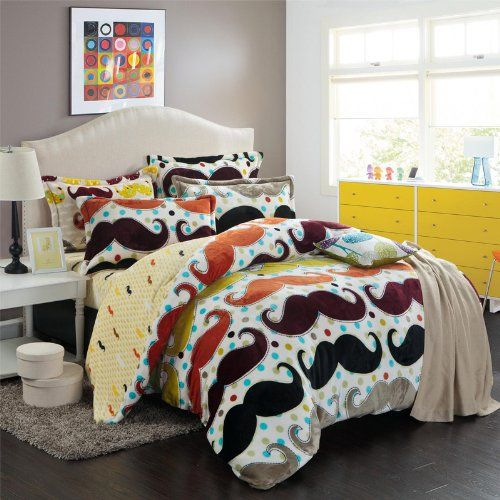 Your teen will have sweet (albeit hairy) dreams in this Colorful