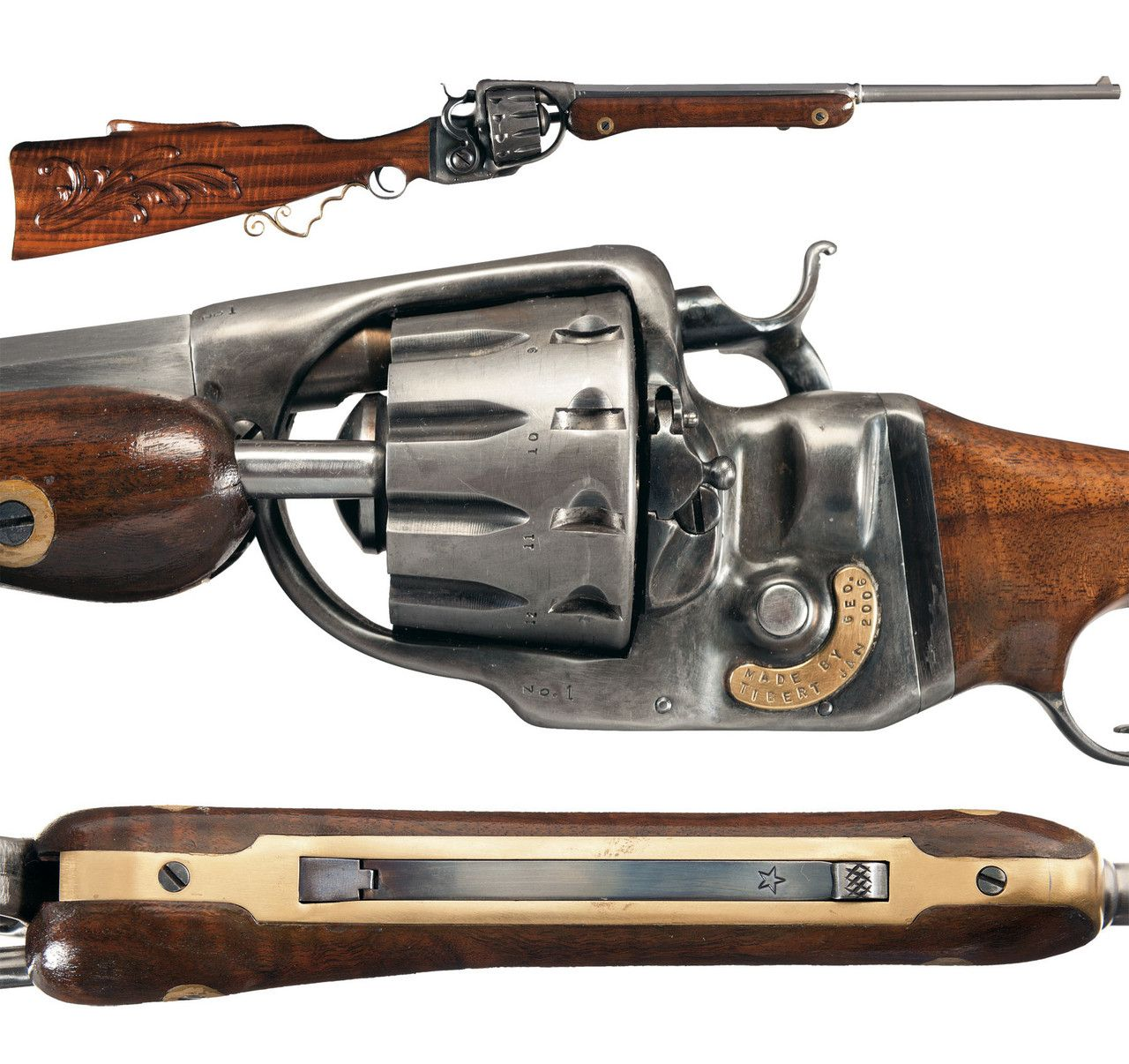 Double pistol handgun revolver gun display case cabinet rack shadowbox - Revolver Rifle Google Search Weapon Guns Pinterest Revolvers Weapons And Guns