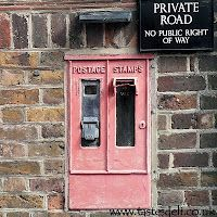 The Stamp Vending Machine Outside The Old Eton Post Office
