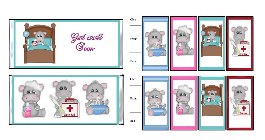 Get Well - Made by Lynn White