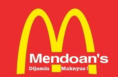 I prefer Mendoan's than McDonald :-P