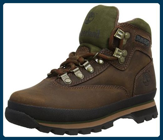 Timberland Euro Hiker FTP_Euro Hiker Leather, Damen Trekking- &  Wanderstiefel, Braun (BROWN