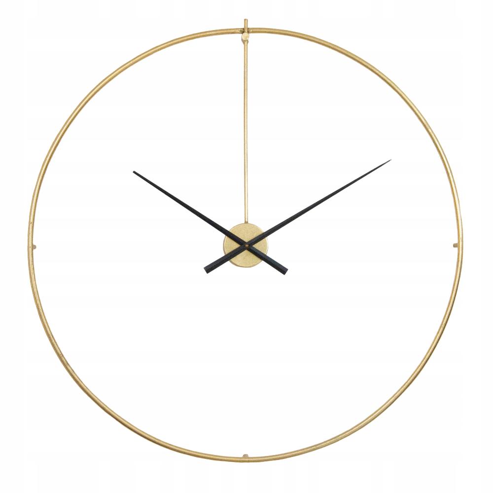 Zegar Do Salonu Metalowy Zloty Retro Sr 92cm Wall Clock Clock Wall