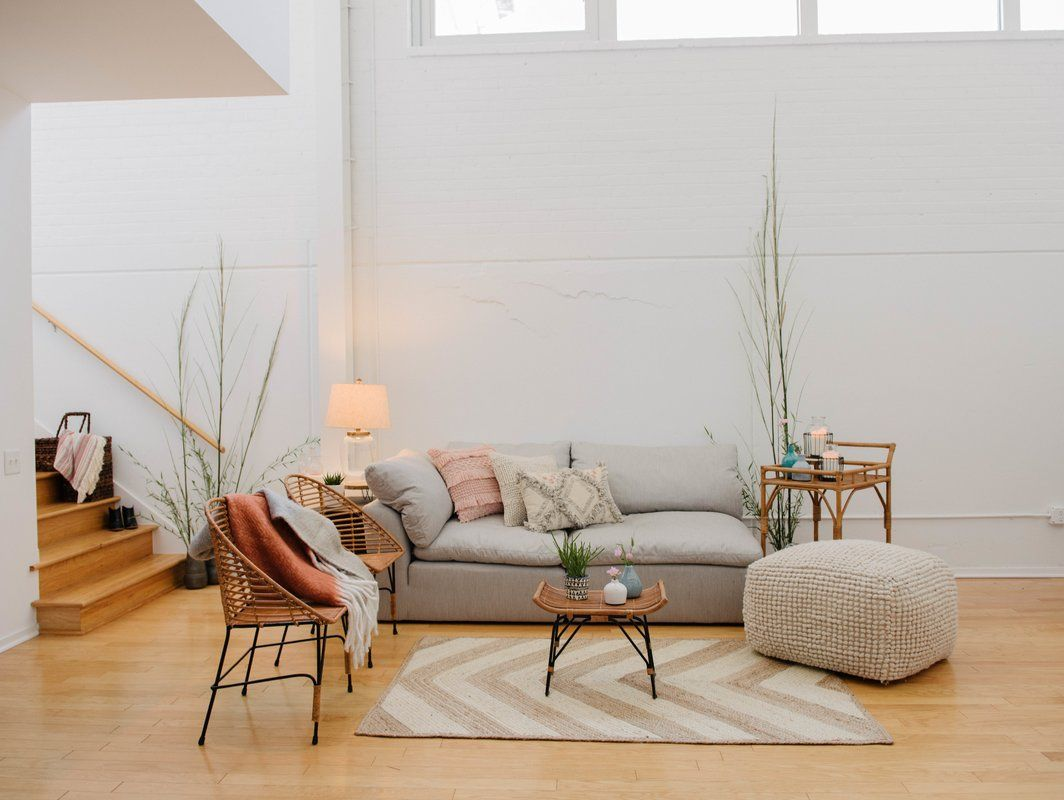 Natoli Pouf Living Room Modern Furniture Home Decor