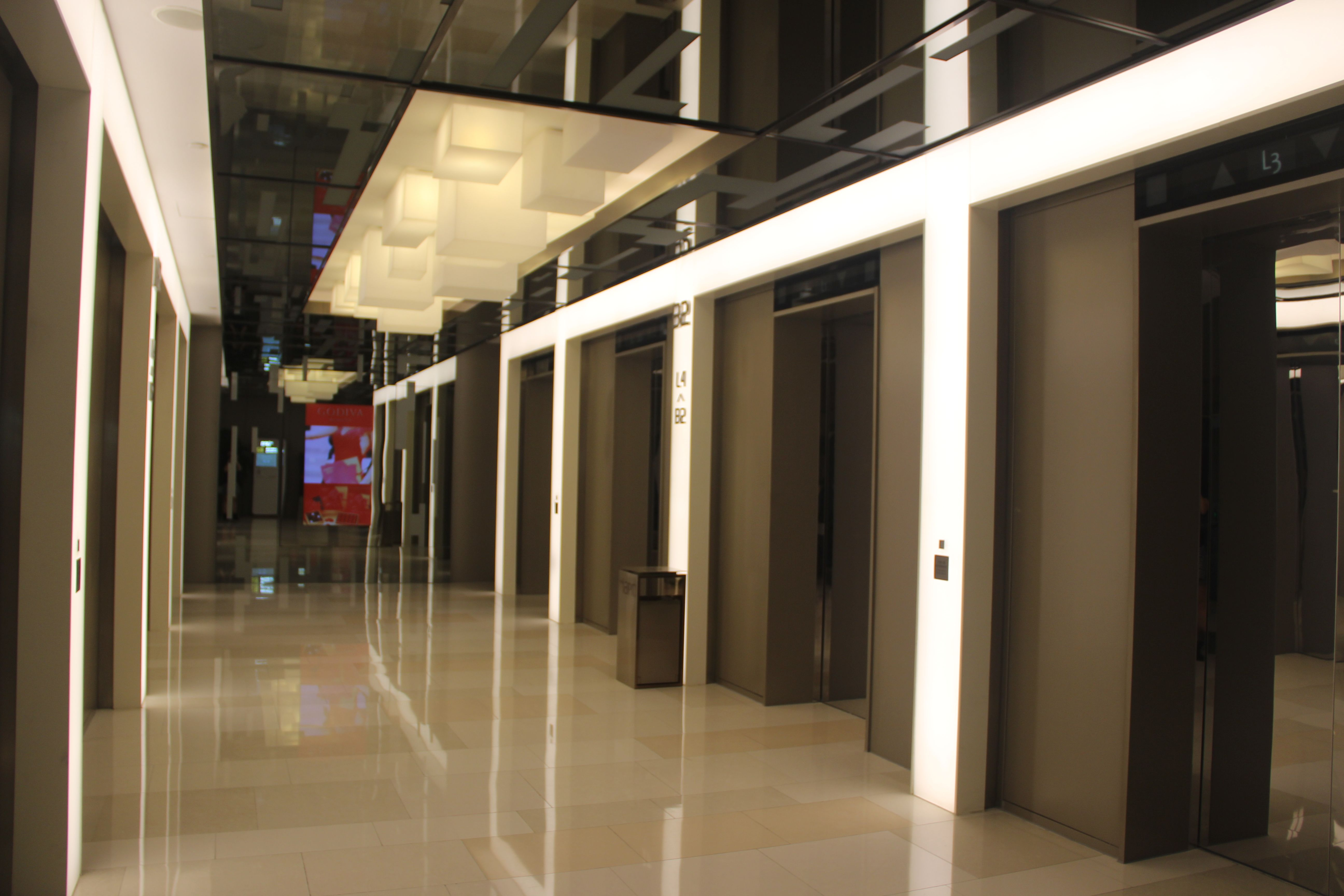Office lobby interior meyer design inc - Office Lift Lobby