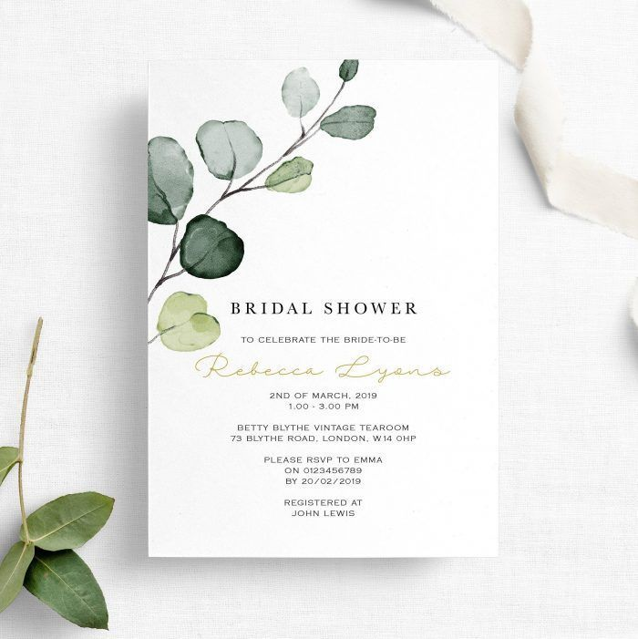 50 Etsy Wedding Shower Invitations That are Stylish and Creative | Junebug Weddings