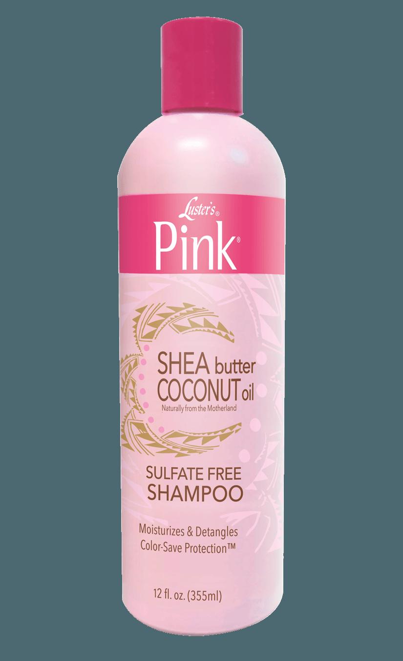 Pink Shea Butter Coconut Oil Sulfate Free Shampoo 12 Ounce