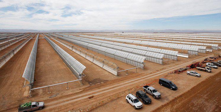Les centrales solaires permettront une économie annuelle des émissions de gaz à effet de serre équivalente à 3,7 millions de tonnes de CO2. Le solaire occupe une place prépondérante dans la vision mar