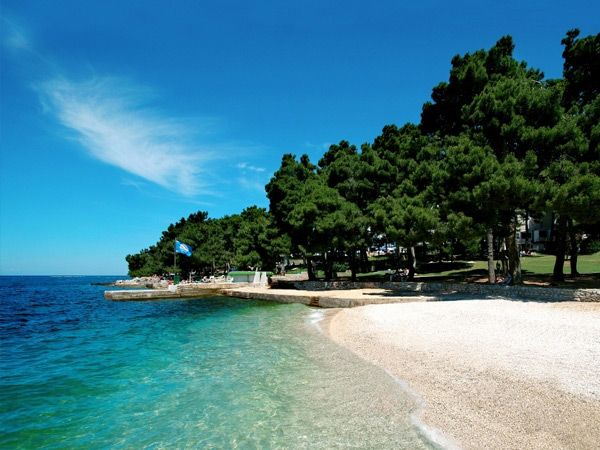 Green Lagoon Zelena Laguna Porec Croatia Croatia Beach Porec Croatia Porec