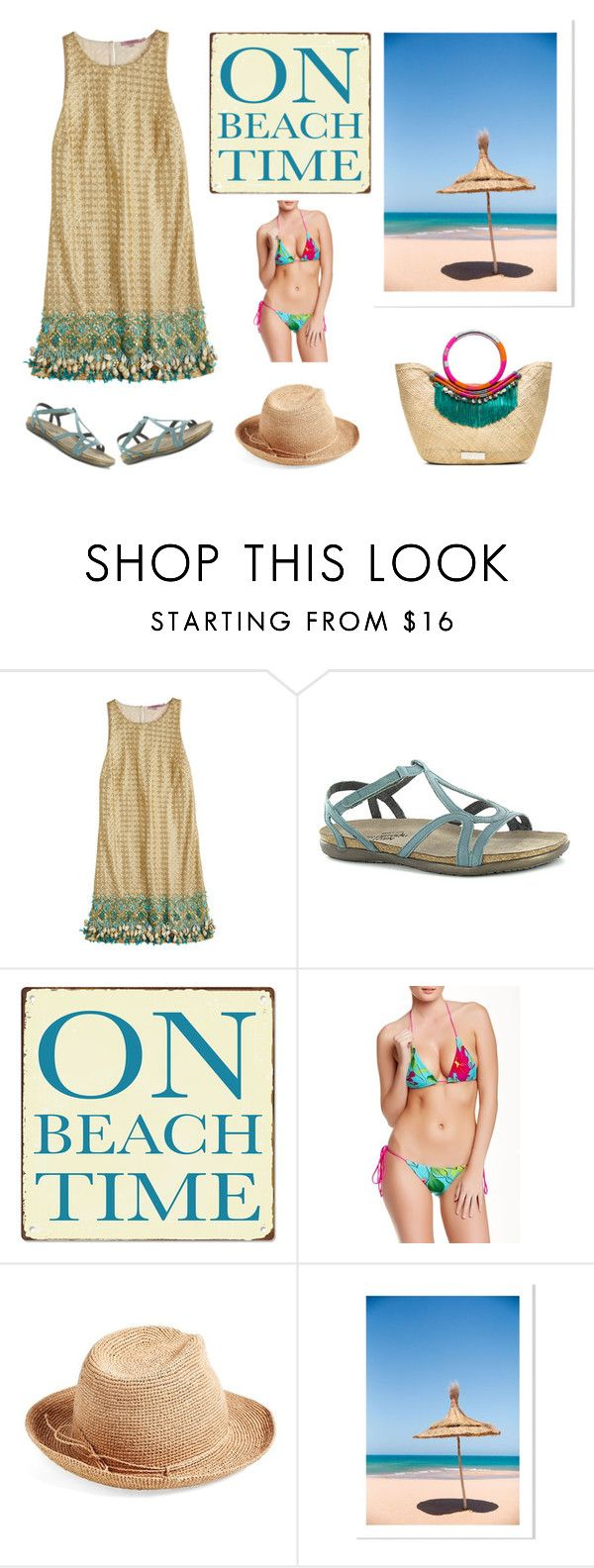 """""""See ya"""" by karen-galves on Polyvore featuring Calypso St. Barth, Naot, Beauty & The Beach, Helen Kaminski, women's clothing, women, female, woman, misses and juniors"""