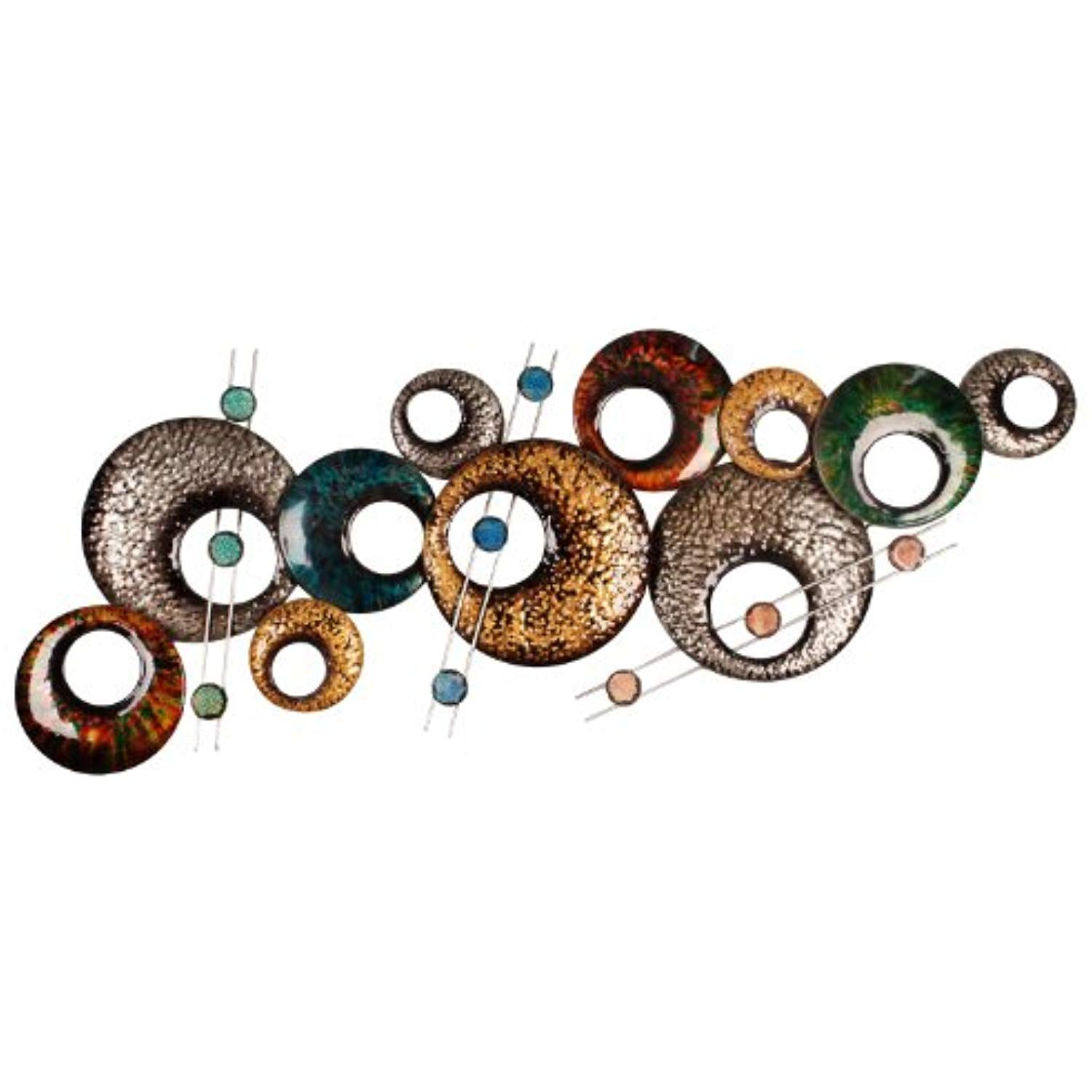Home Source 400 26895 Decorative Wall Art 40 95 Inch By 15 35 Inch By 1 77 Inch Be Sure To Check Out Metal Wall Decor Metal Wall Sculpture Wall Sculptures
