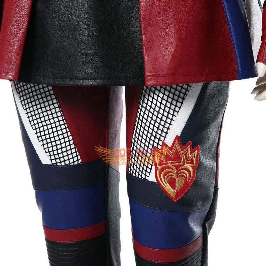 Disney Descendants 3 Cosplay Evie Outfit Costume Halloween Adult Women Kids Suit