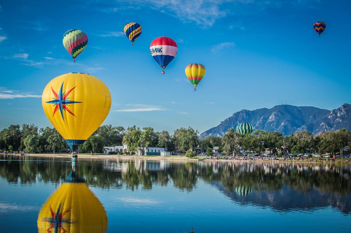Photo Credit Ian McMorran Hot air balloon festival, Air