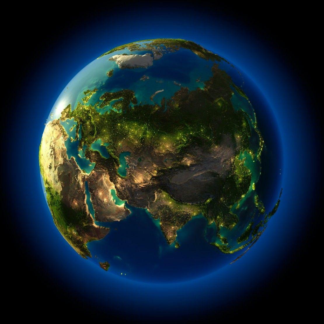 من الفضاء صور ليلية مدهشة للأرض بتفاصيل مستحيلة حرفي ا Earth From Space Earth At Night Earth Photography