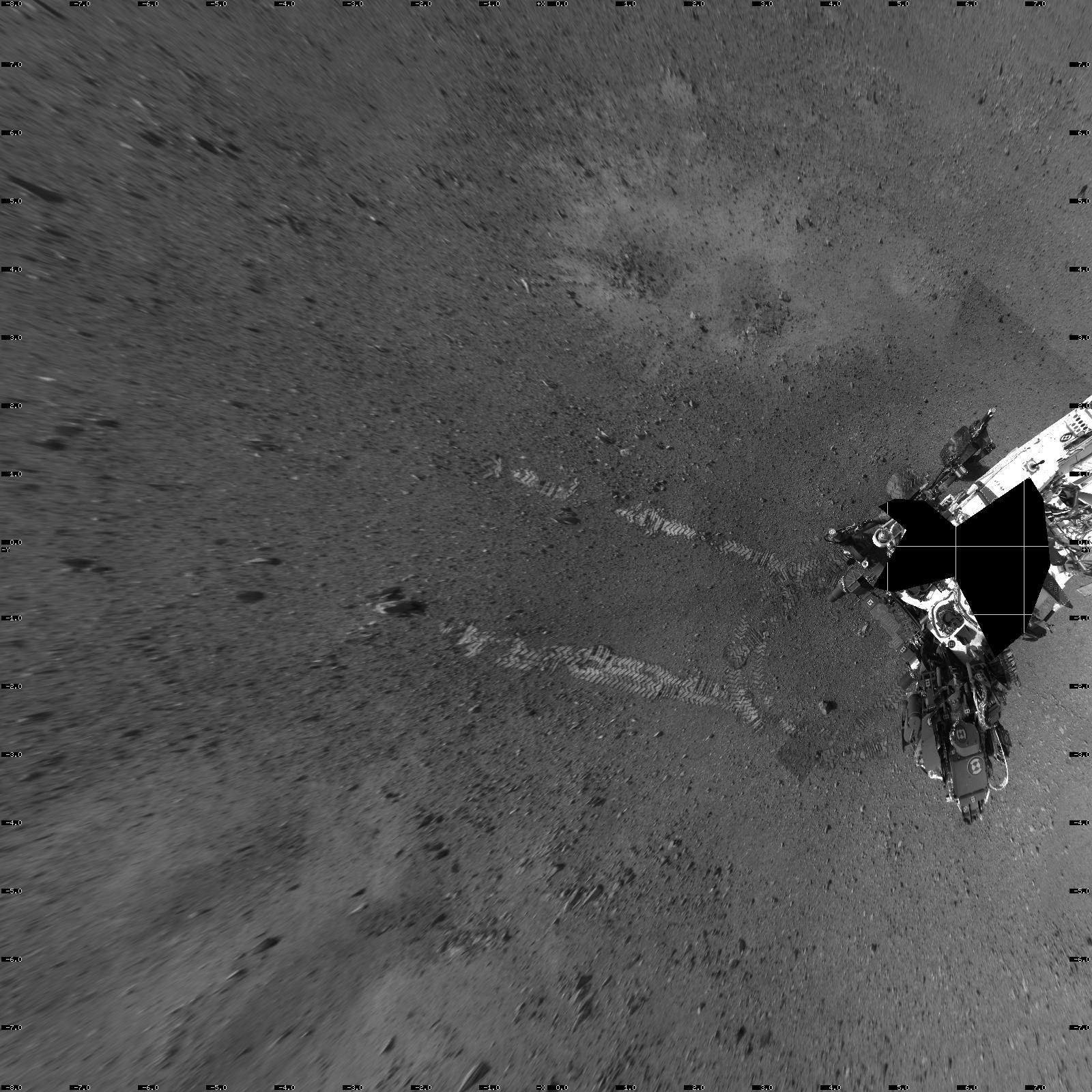 """In tribute, I dedicate my landing spot on Mars to you, Ray Bradbury. Welcome to Bradbury Landing..."" — Curiosity"