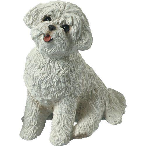 Top 10 Bichon Frisé Collectibles of 2020 Dog sculpture