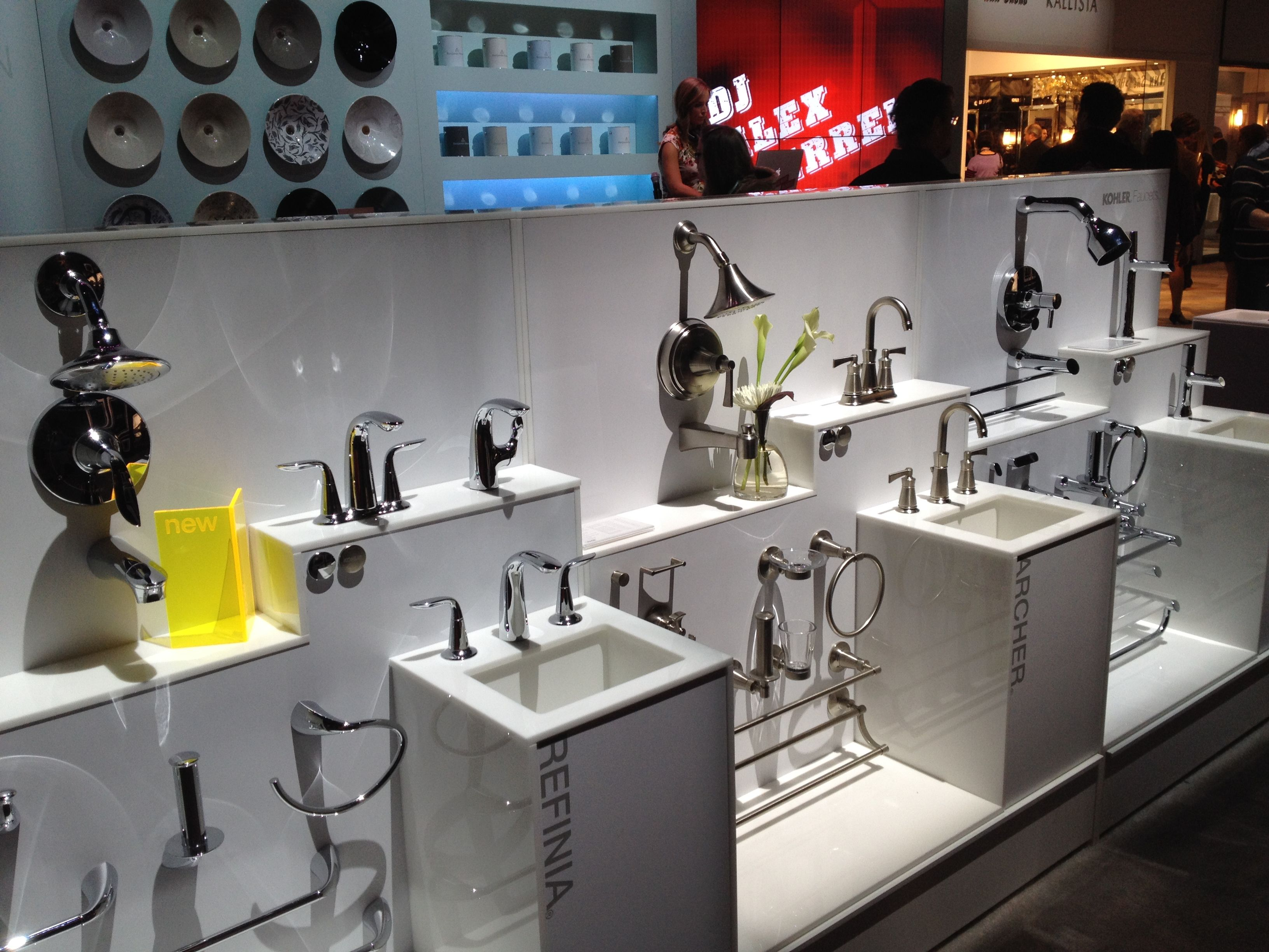 Kohler's Latest Refinia & Archer Showerheads And Faucets