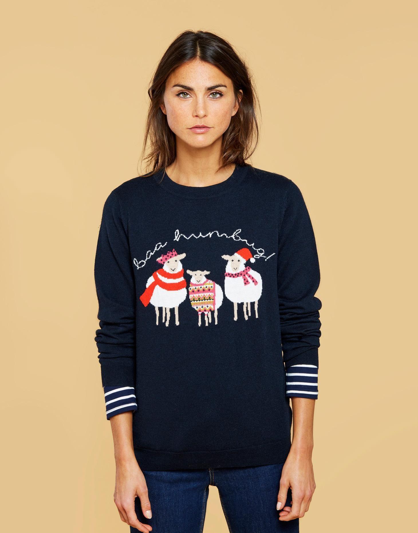 Jaz Christmas Jumper Christmas jumpers, Womens christmas