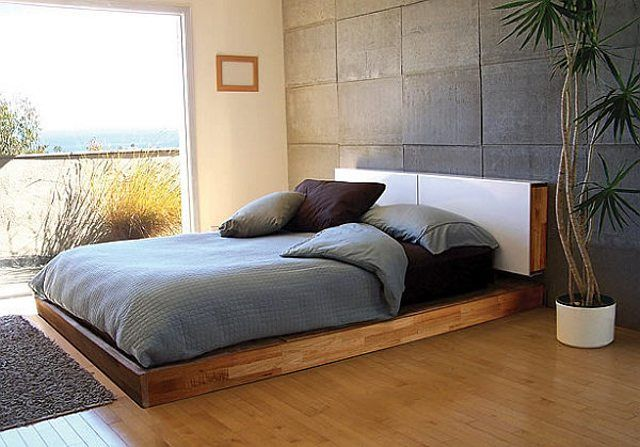 Low Bed Frames Double