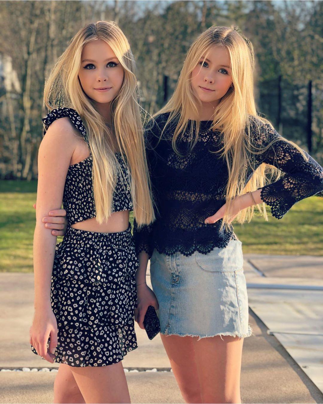 """Iza & Elle's Instagram post: """"Today we had amazing"""
