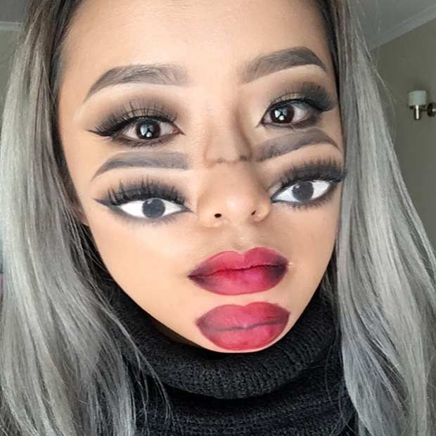 Halloween Makeup Ideas Easy Makeup Looks.21 Easy Diy Halloween Makeup Looks Halloween Costumes Halloween