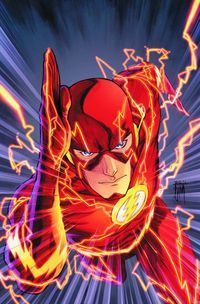 Figured it was time I jump into some of the new 52 from DC. Flash #1, you're up first.