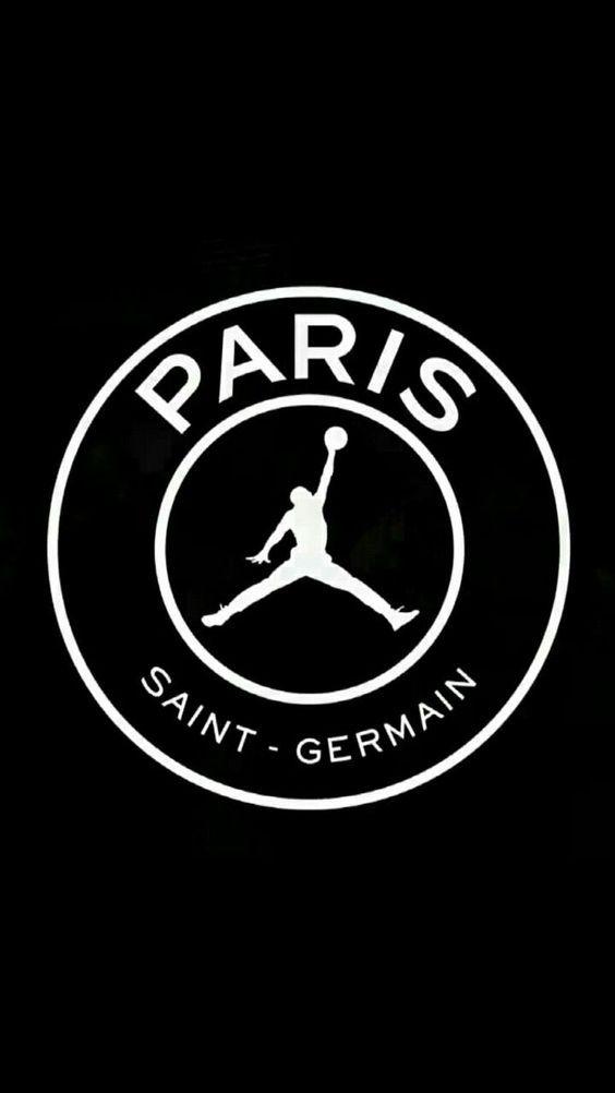 Papel De Parede Do Psg Para Celular Papel De Parede Papel De Parede Da Nike Papel De Parede Futebol Psg Black wallpaper jumpman logo