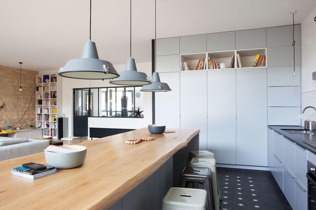 Maison de famille à Bordeaux : 250 m2 rénovés façon loft contemporain | Maison de famille ...