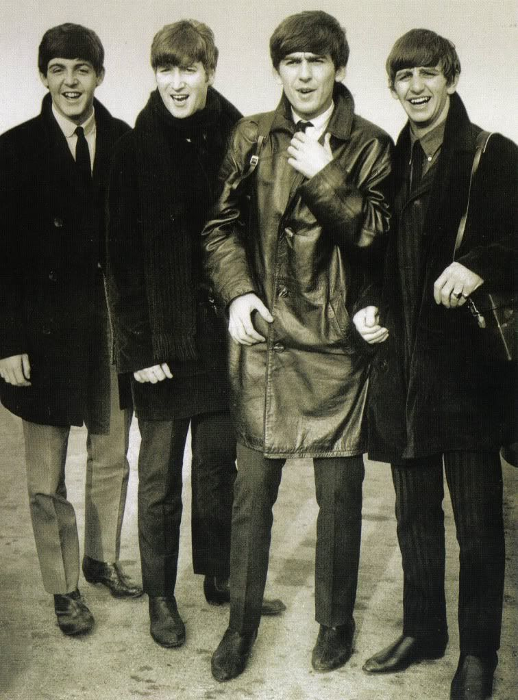 Leather backed Beatles.