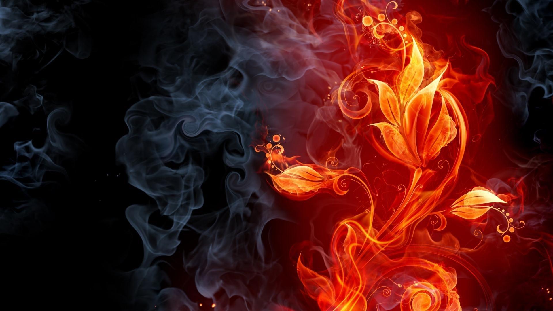 Fire Wallpaper Creative Wallpapers WPRT LanLinGLaureL