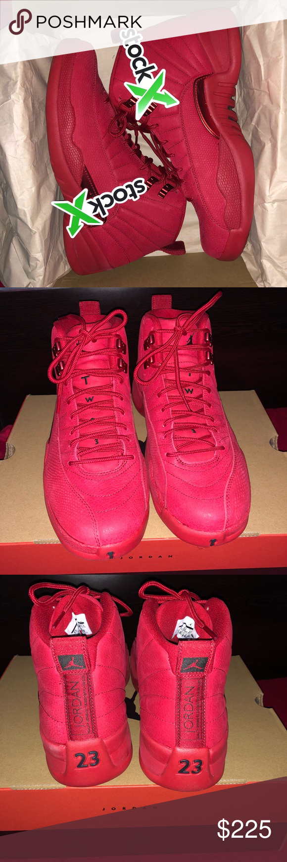 093f7c2f Jordan 12 Retro Gym Red I ordered the wrong size from StockX. 100%  Authentic Brand new. Jordan Shoes Sneakers